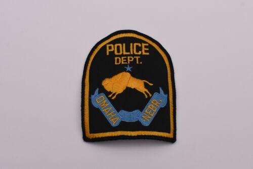 Omaha Nebraska Collectible Police Shoulder Patch