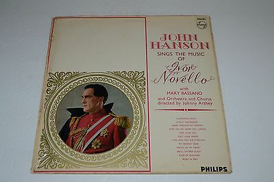 John Hanson Sings the Music of Ivor Novello~Johnny Arthey~UK IMPORT~FAST SHIP