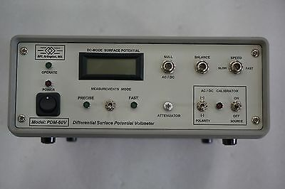 Bpi Arlingtonma Differential Surface Potential Voltmeter Pdm-60v Free Ship