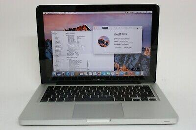 Apple Macbook Pro A1278 Laptop for Home Core i5-2415M 4GB RAM 180GB SSD Sierra