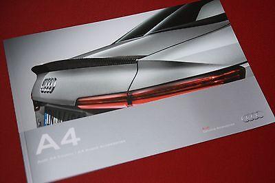 Audi A4 Accessories Brochure 2016