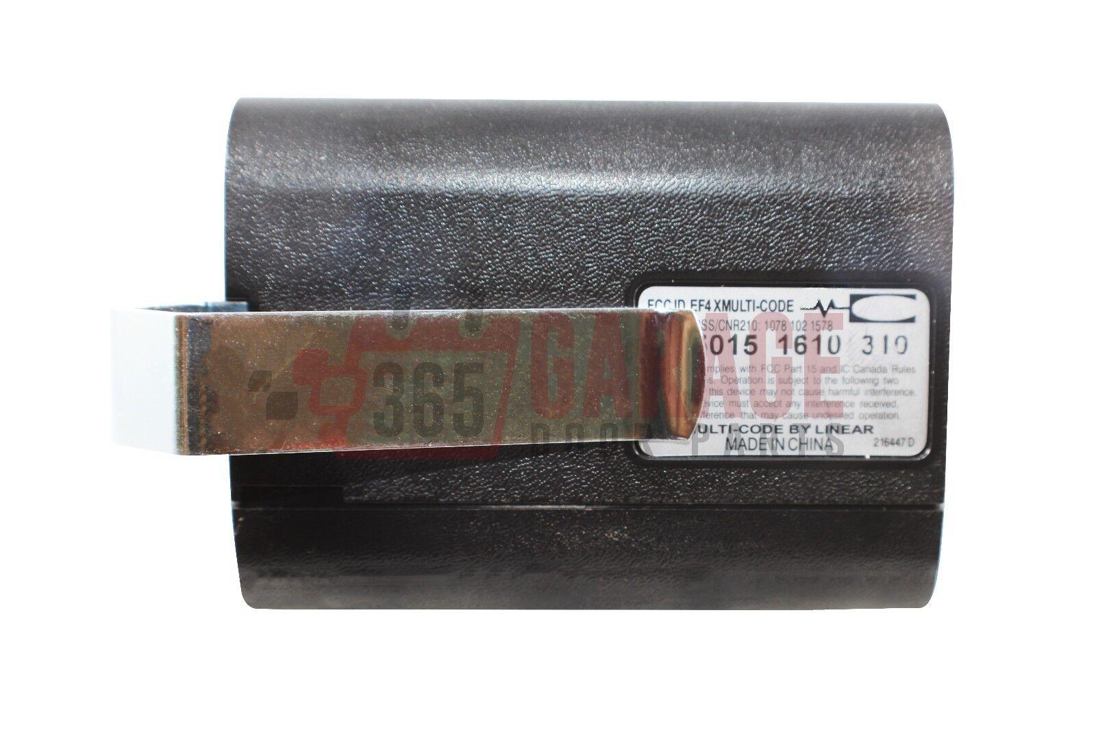 Stanley 1050 310mhz Garage Door Amp Gate Remote 105015 Ebay
