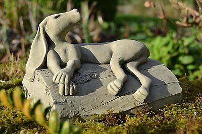 Alonso Hare-Rabbit-Garden Ornament-Sculpture-Statue-Stone-Gift-Lawn Ornament