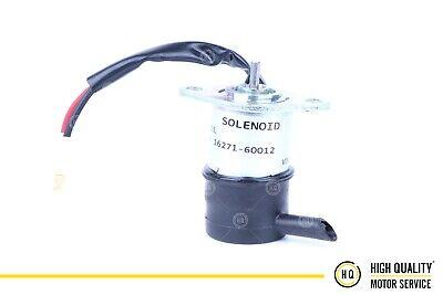 Shutdown Device Solenoid For Kubota 16271-60012 D1105 D1005 V1505 12 Volt
