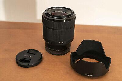 SONY SEL2870 FE 28-70mm f 3.5-5.6 OSS E Mount Full Frame Lens with hood and caps