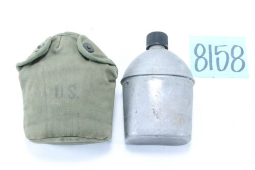 Mixed Set WWII US Army Canteen, Cup & Cover