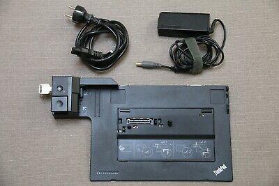 Lenovo Thinkpad Mini Dock 4337 USB 3.0 + Original Lenovo 65W charger and key