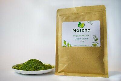 Matcha Powder Japanese Organic Ceremonial Grade 100g