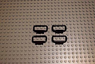 Lego 4 Stück schwarz Zaun Absperrung Handlauf 1x4x2 6187 online kaufen