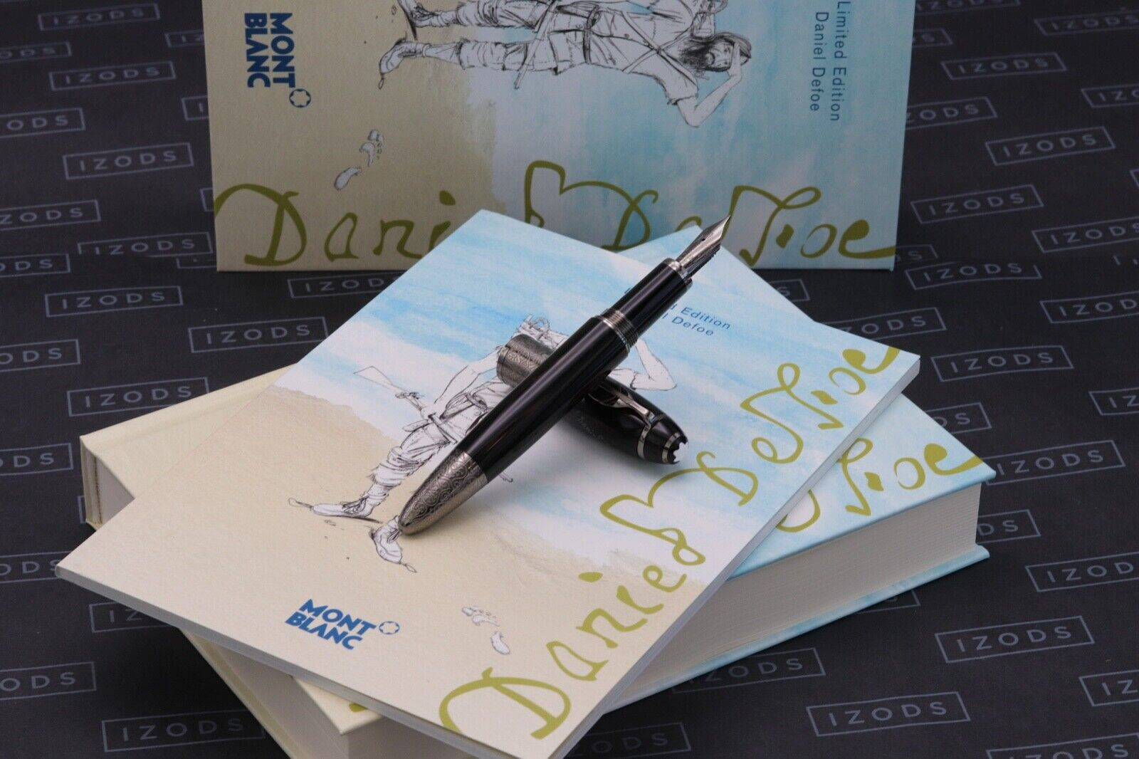 Montblanc Daniel Defoe Writers Limited Edition Fountain Pen - UNUSED