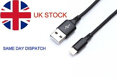 Apple iPhone lighting to USB Charger fast Data Cable Unbreakable Super Strong