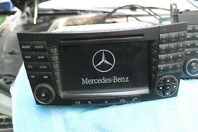 Mercedes w211 w219 CLS w220 r171 SLK NAVIRECHNER Comand ntg1 a2208703589