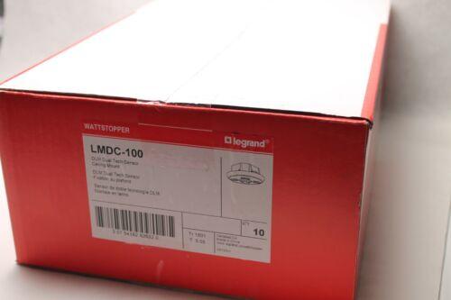 10 PK- LeGrand Wattstopper LMDC-100 DLM Dual Tech Sensor - Ceiling Mount - White