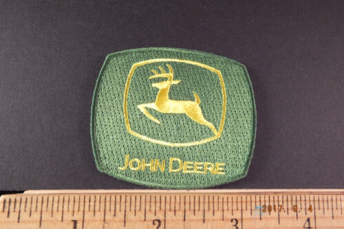 John Deere Embroidered Iron-on Patch