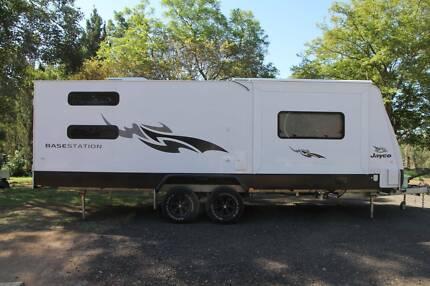 2016 Jayco outback basestation 8 berth caravan 23ft Penrith Penrith Area Preview