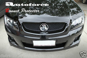 HOLDEN-VE-COMMODORE-SMOKE-TINTED-BONNET-PROTECTOR-SERIES-1-2-SS-SV6-S-Ute-Wagon