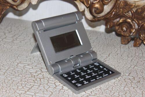 %28B2%29+++Silver++Digital+Pocket+Sized+FoaldableTravel+Bedside+Alarm+Clock+NEW