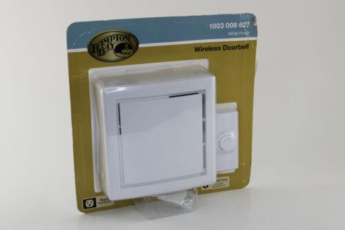 Hampton Bay Wireless Doorbell Plug In 3 Selectable Tunes 1003 008 627
