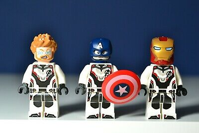 Lego Avengers THOR  IRON MAN & CAPTAIN AMERICA Minifigures 4 End Game