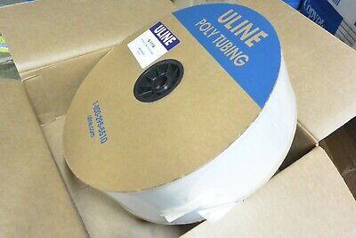 Uline 4 X 3000 2mil Poly Tubing S-1114