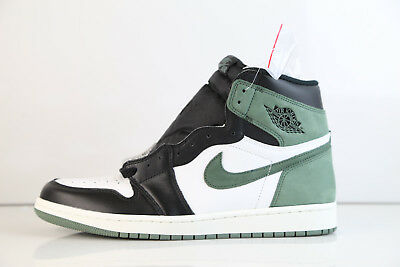 Air Jordan Retro 1 High OG 6 Rings Clay Green Summit White 2018 555088-135 7-13