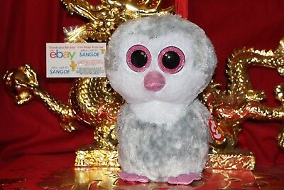 """TY BEANIE BOOS OLIVE THE PENGUIN.9"""".CLAIRE'S EXCLUSIVE.2017.MWNMT.NICE GIFT"""