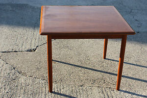 couchtisch teak coffeetable danish design ebay. Black Bedroom Furniture Sets. Home Design Ideas