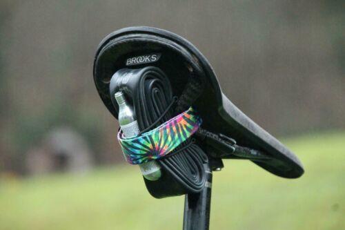 Louri Fahrrad Sattel Riemen Ideal für Packless Straße /& MTB Viele Farben