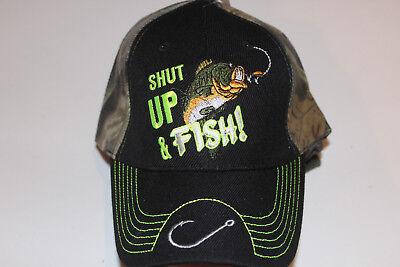 Anglerkappe Cap Kappe Mütze Camouflage Fishing Angler Mütze Angeln # 91