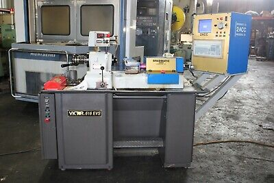 Victor 616 Evs W Cnc Control Lathe Operating Manual 5c Collets