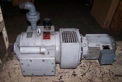 Rietschle Thomas Rotary Vane Vacuum Pump Type Vft100 12 230460 Vac 100 Mbar