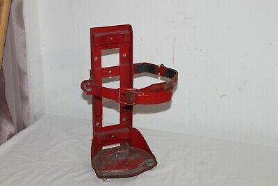Vintage Heavy Duty Steel Fire Extinguisher Mounting Bracket For Fire Truck