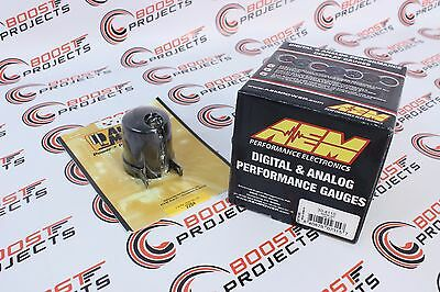 AEM Wideband UEGO Air/Fuel Ratio AFR Gauge & Autometer 2-1/16