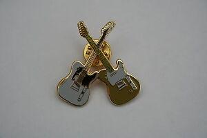 Crossed Guitars As Played By Status Quo Badge Enamel Pin Badge