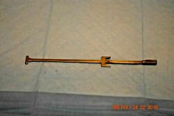 Antique Pendulum leader for wall clock for project set of 1