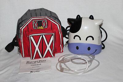 Pediatric Nebulizer Compressor Mabis Healthcare Margo Moo Model 40-269-000