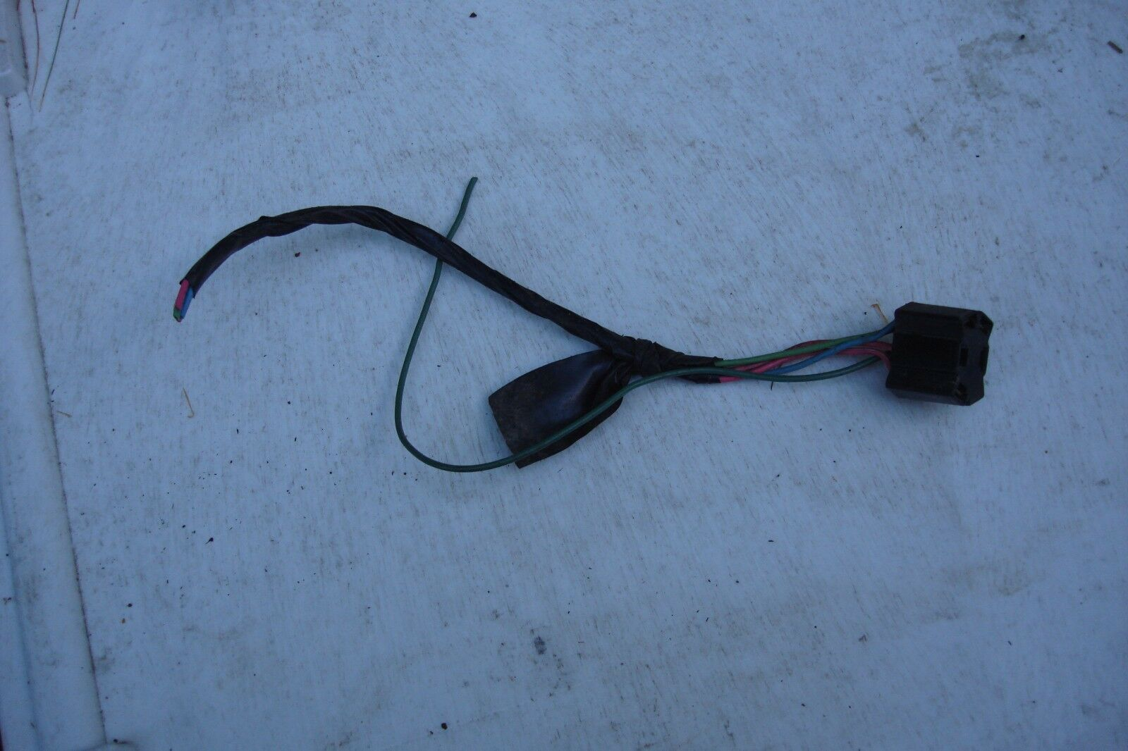 1979 gmc k25 truck under dash wiring harness pigtails -group lot