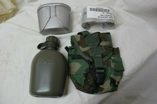 US Military Issue Canteen Cup and Cover with Stove Complete Set Lot NEW
