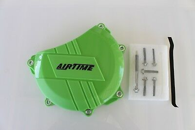 AIRTIME NEW CLUTCH COVER SIDE CASE PROTECTOR KAWASAKI KX450F 2006-2015 -GRN302