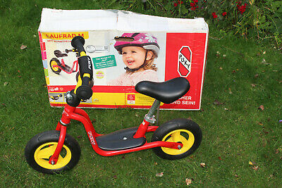 Puky Learner Balance  Bike Medium in Red and Yellow