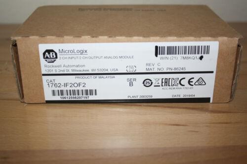 Allen-Bradley MicroLogix 2 Channel input/output Analog Module 1762-IF2OF2 Ser.B