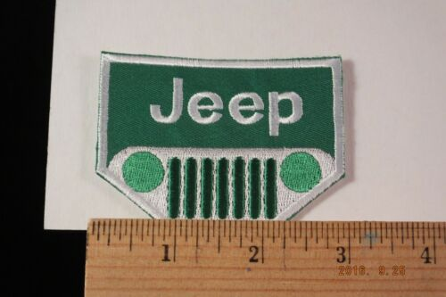 """Jeep Patch  Iron-On Embroidered Patch  3x2.25"""""""