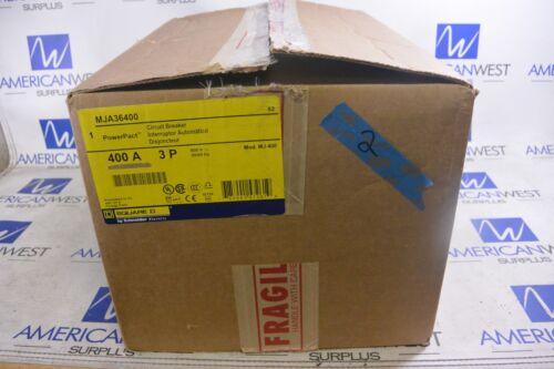Mja36400 Square D Powerpact 400a 600v 3p I Line Circuit Breaker Mj400 New In Box
