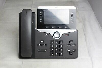 Lot Of 5 Cisco Cp-8841 Color Display Unified Ip Business Office Phones