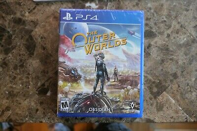The Outer Worlds PS4 (Sony PlayStation 4, 2019) NEW FACTORY SEALED