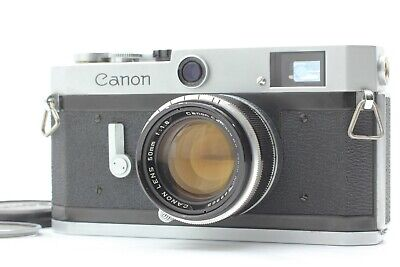 【 EXC++++ 】 Canon P Rangefinder Film Camera + 50mm f/1.8 LTM L39 Lens from JAPAN