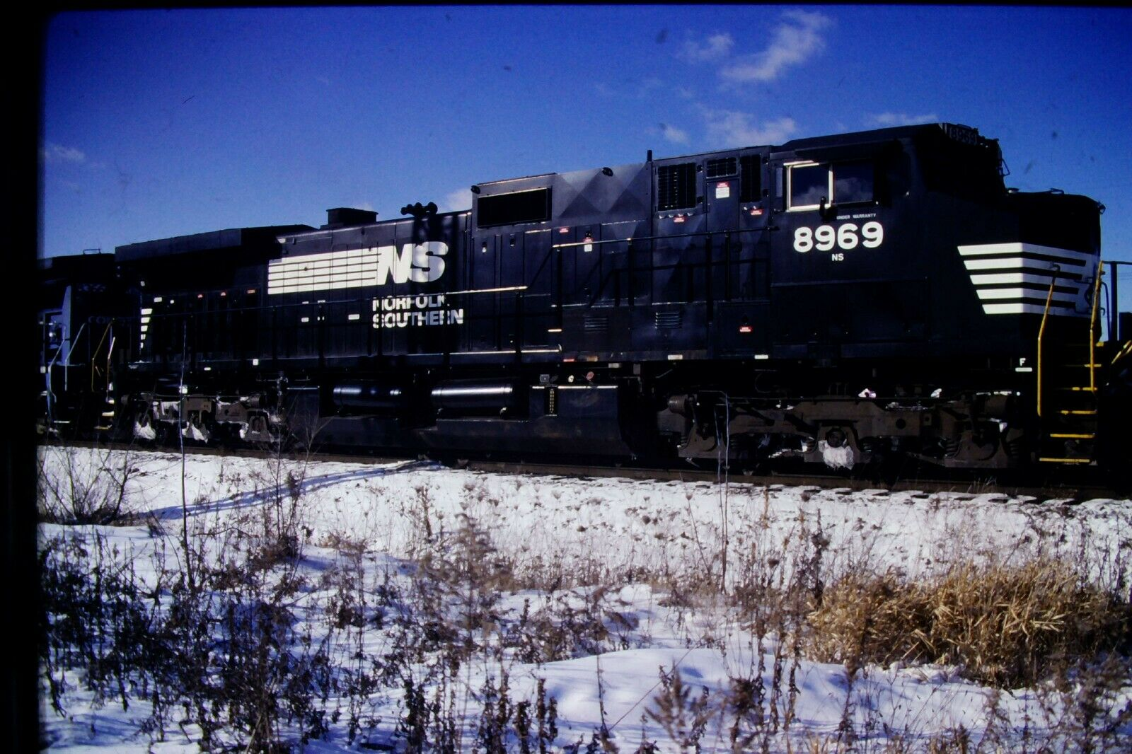 Original Slide Amtrak GE Dash 8 Diesel Engine (2002) #CC558