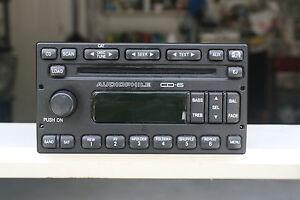 used 2006 ford escape am fm radio stereo 6 disc changer cd. Black Bedroom Furniture Sets. Home Design Ideas
