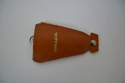 DDR mifa Schlüsseltasche Zündschlüsseltasche hellbraun 9 cm (K06) gebraucht kaufen  Deutschland