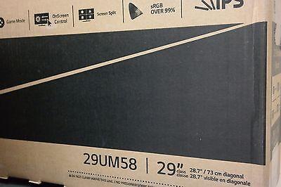 """Monitor LG 29"""" 29UM58-P IPS LCD"""